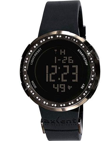 AXCENT IX1318B-007 - Женские кварцевые электронные наручные часы хронограф с функциями секундомера,таймером обратного
