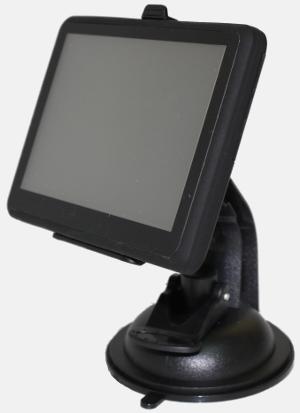 Автомобильный навигатор питание от аккумулятора работа от прикуривателя цветной сенсорный дисплей 5 fm-передатчик