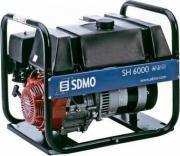 Бензиновый генератор SDMO SH 6000 -c