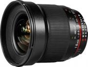Объектив Samyang EF-M 16mm f/2.0 ED AS UMS CS Canon