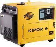 Дизельный генератор Kipor KDE 6700TA