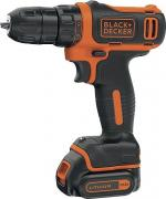 Дрель Black & Decker BDCDD-12B-XK