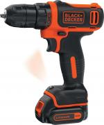 Дрель Black & Decker BDCDD12-12k1b-qw