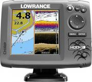 Картплоттер Lowrance Hook-5 Mid/High/DownScan
