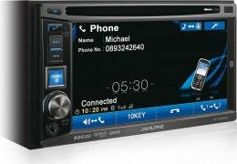 автомагнитола 2 din Alpine IVE-W530BT