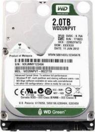 жесткий диск Western Digital WD20NPVT