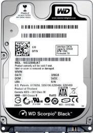 жесткий диск Western Digital WD2500BEKX