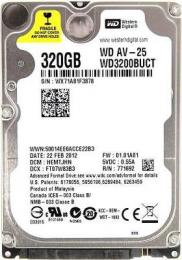 жесткий диск Western Digital WD3200BUCT