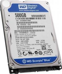 жесткий диск Western Digital WD5000BEVT
