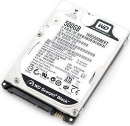 жесткий диск Western Digital WD5000BEKT