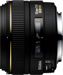 объектив Sigma AF 30mm f/1.4 EX DC HSM Canon EF-S