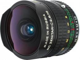 объектив Зенит Зенитар-C 16mm f/2.8 MC Canon