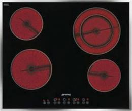 варочная поверхность Smeg SE2641CX2