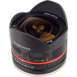 объектив Samyang 8mm f/2.8 Fisheye Fuji X