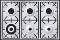 варочная поверхность ILVE HP90-6D
