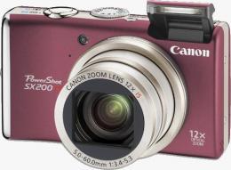 цифровой фотоаппарат Canon PowerShot SX200 IS