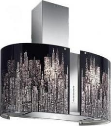кухонная вытяжка Falmec Mirabilia Isola 85 Manhattan Vetro 800 ECP