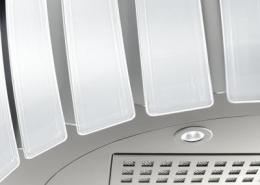 кухонная вытяжка Falmec Prestige 65 Vetro IX 800
