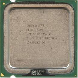 процессор Intel Pentium 4 521