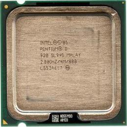 процессор Intel Pentium D 920