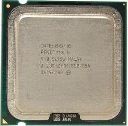 процессор Intel Pentium D 940
