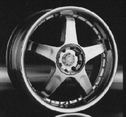 литые диски Racing Wheels H-115