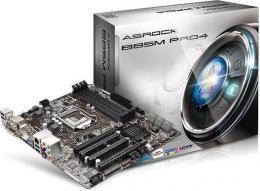 материнская плата ASRock B85M Pro 4