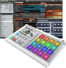 миди-контроллер Native Instruments Maschine Mikro MkII Wht