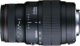 объектив Sigma AF 70-300mm f/4-5.6 APO Macro DG Minolta A