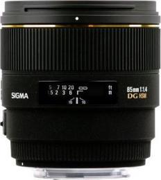 объектив Sigma AF 85mm f/1.4 EX DG HSM Minolta A