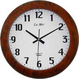 настенные часы La Mer GD180002BRN