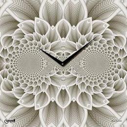 настенные часы Lowell 7402