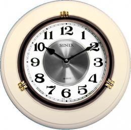 настенные часы Sinix 1018WA-White