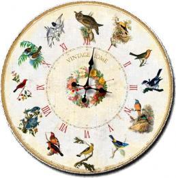 настенные часы Time2Go 445 Птицы