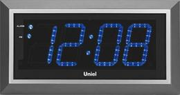 настенные часы Uniel UTL-11BSL