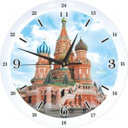 настенные часы Вега п 1-7619/7-78