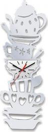настенные часы W-ERA cl160mirror