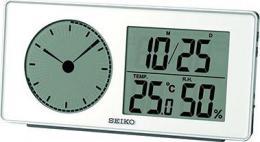настольные часы Seiko QHL059WL