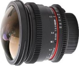 объектив Samyang MF 8mm T3.8 AS IF UMC Fish-eye CS II Vdslr Nikon F