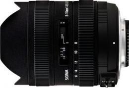 объектив Sigma AF 8-16mm f/4.5-5.6 DC HSM Nikon F
