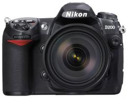 цифровой фотоаппарат Nikon D200
