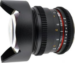 объектив Samyang 14mm T3.1 ED AS IF UMC VDSLR Sony E