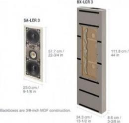 встраиваемая акустика Paradigm BX-LCR 3 v.2