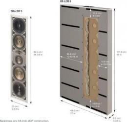 встраиваемая акустика Paradigm BX-LCR 5 v.2