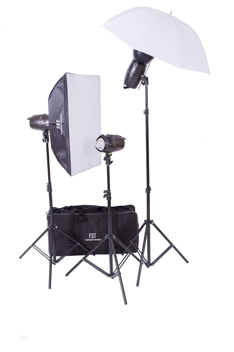 Как настроить импульсный свет в фотостудии