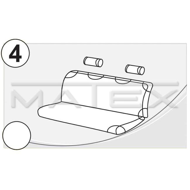 Чехлы на сиденья МАТЕX Автомобильный чехол (майка) - фото 10