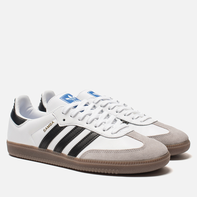 29f96689cbf5 Adidas Originals Мужские кроссовки Samba OG White Core Black Clear Granite  976134525  цена, характеристики, фото, Adidas Originals Мужские кроссовки  Samba ...