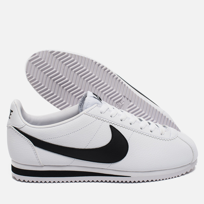 54cb112cf81e Nike Мужские кроссовки Classic Cortez Leather White Black 976134281  цена,  характеристики, фото, Nike Мужские кроссовки Classic Cortez Leather White  Black ...