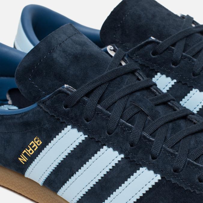 40332a4bdf7a Adidas Originals Кроссовки Berlin Dark Marine Clear Sky Trace Blue  977134195  цена, характеристики, фото, Adidas Originals Кроссовки Berlin  Dark ...