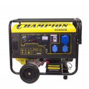 Бензиновый генератор Champion Gg6501e + ats